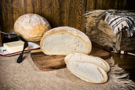 Chleb żytnio-pszenny okrągły