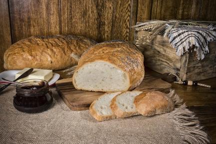 Chleb z chrzanem