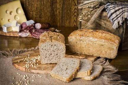 Chleb żytni z gryką