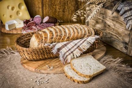 Chleb ziarno słonecznika